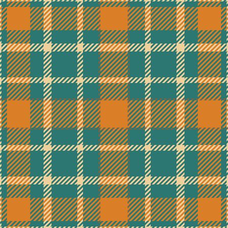 Tartan scotland seamless plaid pattern vector. Retro background fabric. Vintage check color square geometric texture for textile print, wrapping paper, gift card, wallpaper flat design. Reklamní fotografie - 131419972