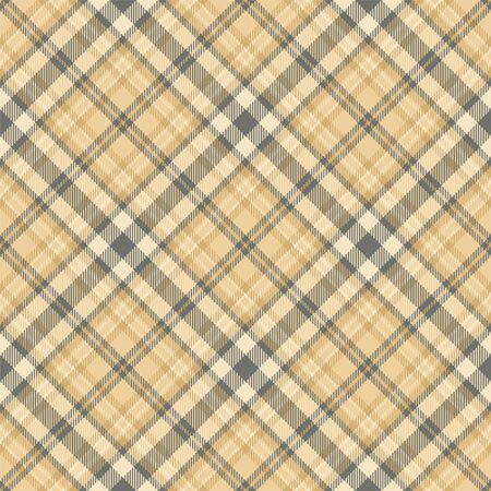 Vecteur de motif à carreaux sans soudure tartan ecosse. Tissu de fond rétro. Texture géométrique carrée de couleur vintage pour impression textile, papier d'emballage, carte-cadeau, design plat de papier peint. Vecteurs