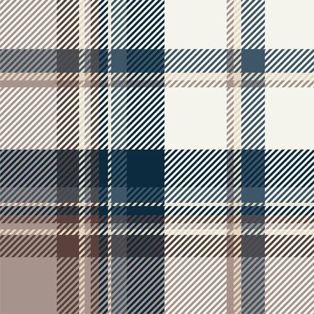 Tartan scotland seamless plaid pattern vector. Retro background fabric. Vintage check color square geometric texture for textile print, wrapping paper, gift card, wallpaper flat design. Ilustrace