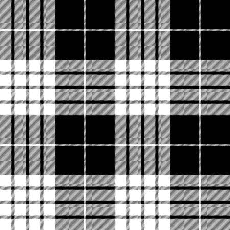 Cameron clan tartan diagonal check plaid seamless pattern. Vector illustration. Ilustrace