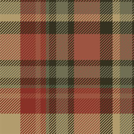 Tartan scotland seamless plaid pattern vector. Retro background fabric. Vintage check color square geometric texture for textile print, wrapping paper, gift card, wallpaper flat design. Stock Vector - 133185905