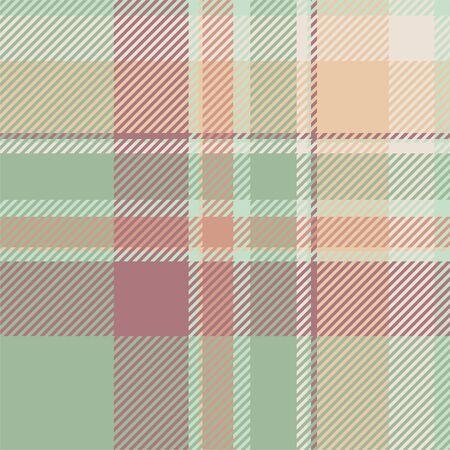 Tartan scotland seamless plaid pattern vector. Retro background fabric. Vintage check color square geometric texture for textile print, wrapping paper, gift card, wallpaper flat design. Illusztráció