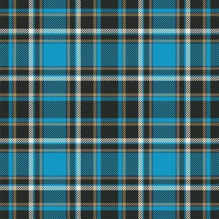Tartan Scozia seamless pattern plaid vettore. Tessuto di fondo retrò. Struttura geometrica quadrata di colore vintage check per stampa tessile, carta da imballaggio, carta regalo, carta da parati design piatto. Vettoriali
