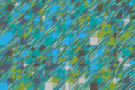 Modern glitch background. Color geometric abstract pattern. Damage lines glitches effect wallpaper. Grunge texture plaid.