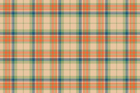 scotland seamless plaid pattern. Retro background fabric. Vintage check color square geometric texture for textile print, wrapping paper, gift card, wallpaper flat design.