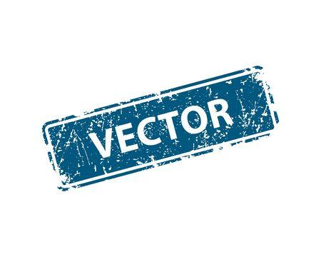 stamp vector texture. Rubber cliche imprint. Web or print design element for sign, sticker, label
