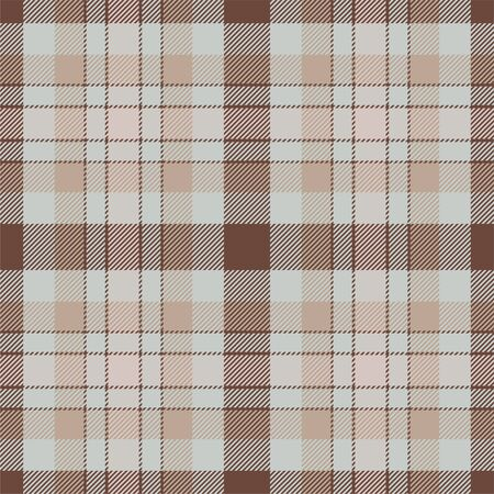 Tartan scotland seamless plaid pattern vector. Retro background fabric. Vintage check color square geometric texture for textile print, wrapping paper, gift card, wallpaper flat design. Stock Illustratie