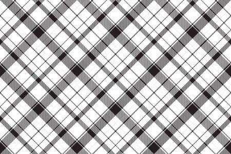 Tartan Schottland nahtloser karierter Mustervektor. Retro-Hintergrundgewebe. Vintage Check-Farbquadrat geometrische Textur für Textildruck, Geschenkpapier, Geschenkkarte, flaches Design der Tapete. Vektorgrafik