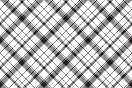 Tartan scotland seamless plaid pattern vector. Retro background fabric. Vintage check color square geometric texture for textile print, wrapping paper, gift card, wallpaper flat design. Vetores