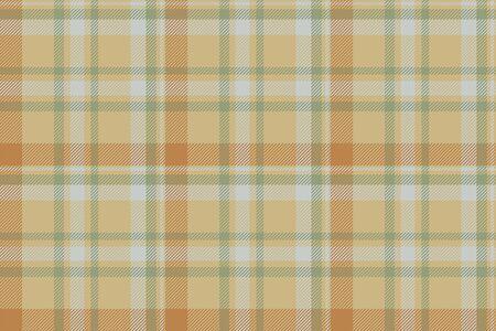 Vector de patrón de cuadros sin fisuras de tartán escocia. Tela de fondo retro. Textura geométrica cuadrada de color a cuadros vintage para impresión textil, papel de regalo, tarjeta de regalo, diseño plano de papel tapiz. Ilustración de vector