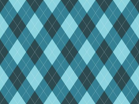Argyle pattern seamless. Fabric texture background. Classic argill vector ornament. 일러스트