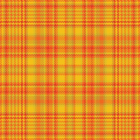 Tartan plaid pattern seamless. Print fabric texture. Check vector background. Vector Illustration