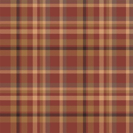 Tartan scotland seamless plaid pattern vector. Retro background fabric. Vintage check color square geometric texture for textile print, wrapping paper, gift card, wallpaper flat design. Vettoriali