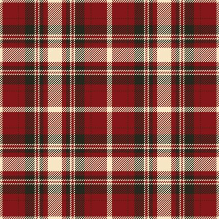Tartan scotland seamless plaid pattern vector. Retro background fabric. Vintage check color square geometric texture for textile print, wrapping paper, gift card, wallpaper flat design. Vector Illustratie