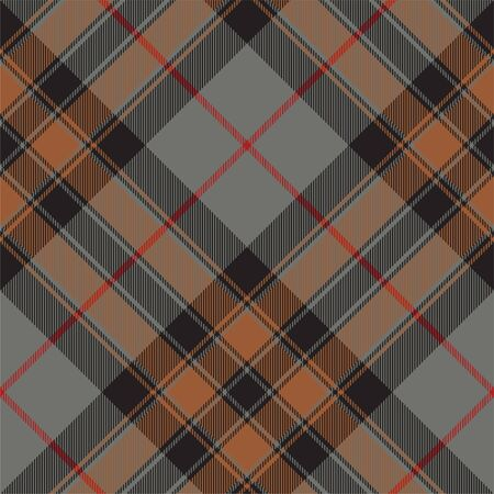 Abstract tartan seamless pattern. Vector illustration. 向量圖像