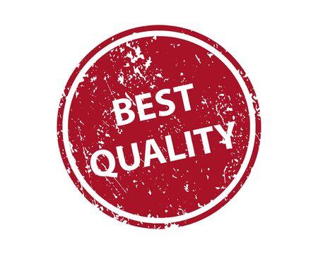 Best quality stamp vector texture. Rubber cliche imprint. Web or print design element for sign, sticker, label Illustration