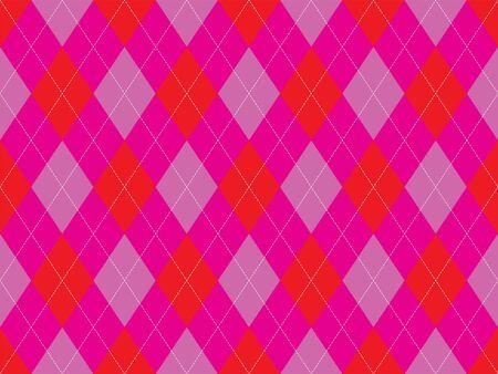 Argyle pattern seamless. Fabric texture background. Classic argill vector ornament. Çizim