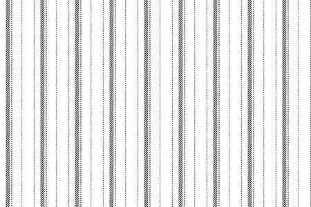 Trendy striped wallpaper. Vintage stripes vector pattern seamless fabric texture. Template stripe wrapping paper for christmas gift card or print and web design. Ilustração Vetorial