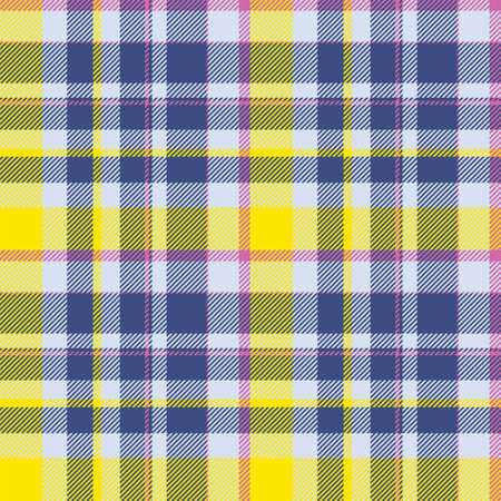 Tartan scotland seamless plaid pattern vector. Retro background fabric. Vintage check color square geometric texture for textile print, wrapping paper, gift card, wallpaper flat design. Векторная Иллюстрация