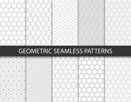 Abstract geometric pattern. Seamless vector background. Vektoros illusztráció