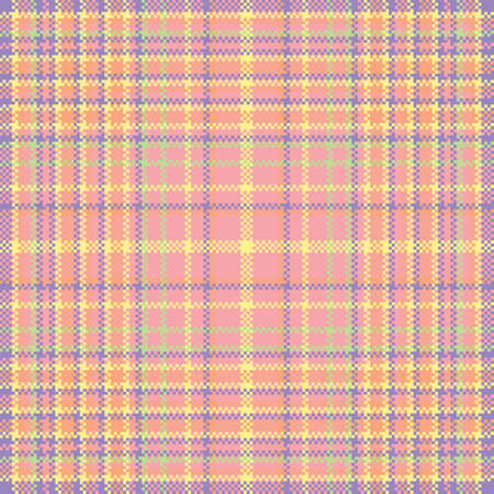 Tartan plaid pattern seamless. Print fabric texture. Check vector background.
