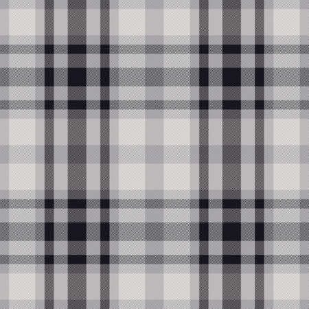 Plaid pattern seamless. Check fabric texture. Stripe square background. Vector textile design tartan. Ilustrace