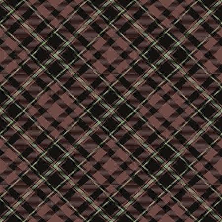 Plaid seamless pattern. Stripe fabric texture. Check square background. Tartan vector textile design. 向量圖像