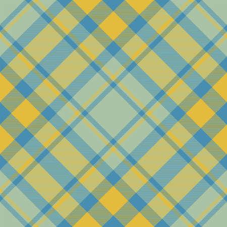 Check plaid pattern seamless. Tartan fabric texture. Stripe square background. Vector textile design.