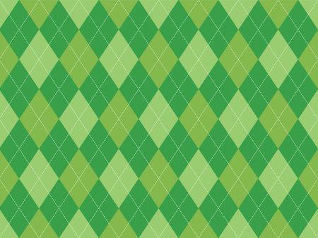Argyle pattern seamless. Fabric texture background. Classic argill vector ornament. Standard-Bild - 161804674