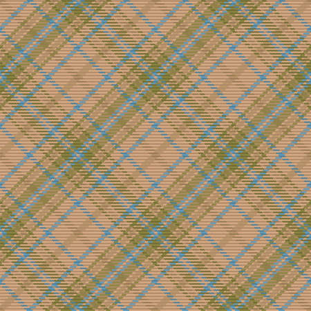 Tartan plaid seamless pattern. Color textile background. Flannel shirts. Vector illustration for wallpapers, fabric, scottish cage. Standard-Bild - 161804750