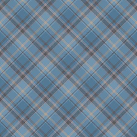 Check plaid seamless pattern. Vector background of textile ornament. Flat fabric design. Tartan. Standard-Bild - 161804778