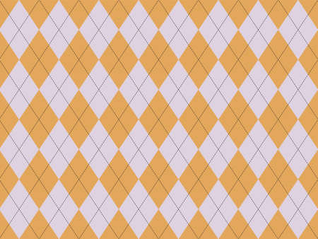 Argyle pattern seamless. Fabric texture background. Classic argill vector ornament. Illustration