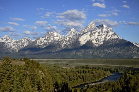 Snake river Wyoming - USA photo