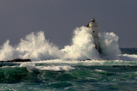 Lighthouse in Sardinia - Italy photo