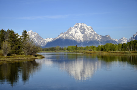 Outlook Snake River - Oxbow Bend, Wyoming photo