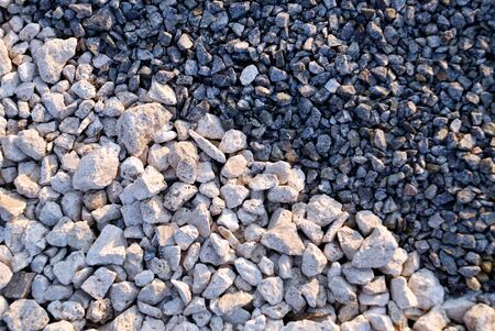 rubble: Small rubble of two colours