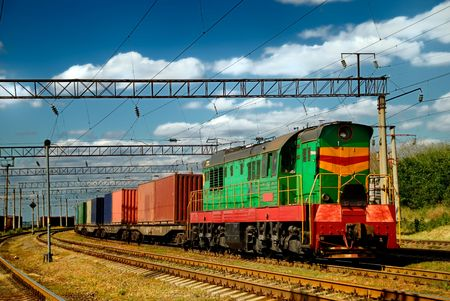 corrode: The diesel train with wagon