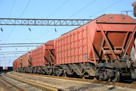 substructure: The train transportation of cargoes by rail