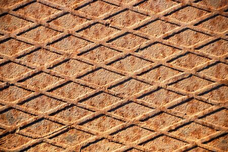 Closeup of the rusty grunge metal background Stock Photo - 4333301