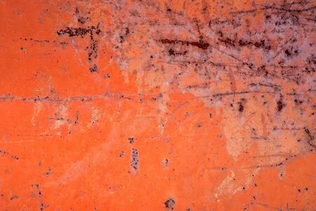 Background from iron covered with a rust and red paint Stock Photo - 4471199