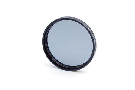 cir: Cir polariziing pro filter isolated on white