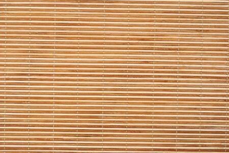 Close up achtergrond van bamboe tafel doek Stockfoto