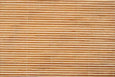 Close up background from bamboo table cloth photo