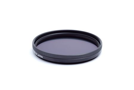cir: Polarising optical filter with an inscription made in japan