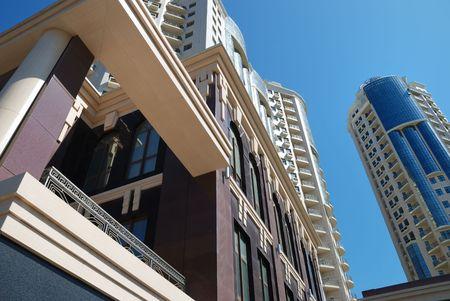 The facade of a modern apartment building Stock Photo - 5537687