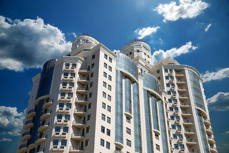 The facade of a modern apartment building Stock Photo - 5600707