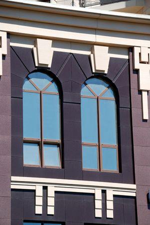 The facade of a modern apartment building Stock Photo - 5727514