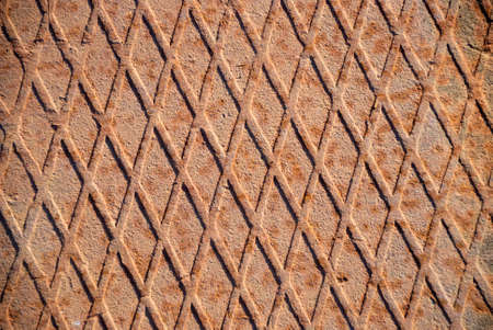 Closeup of the rusty grunge metal background Stock Photo - 5748943