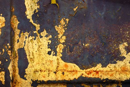 Closeup of the rusty grunge metal background Stock Photo - 5854399
