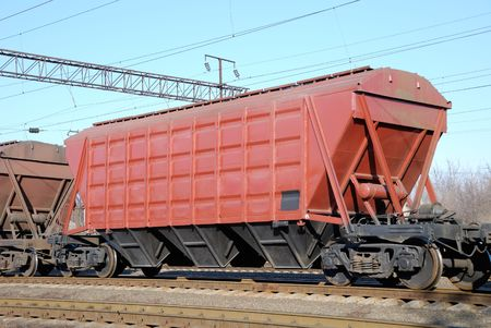 provision: Railway cars for various crumbly cargoes